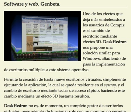 Lee en internet sin distracciones con Readability