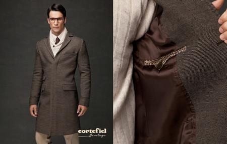 abrigo paño heritage cortefiel