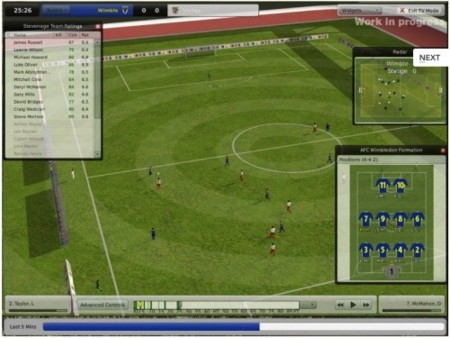 Gameplay Football Manager 2009