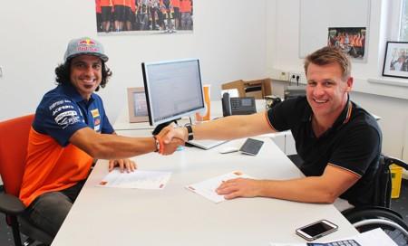 Iván Cervantes y Jorge Prado renuevan otra vez con KTM