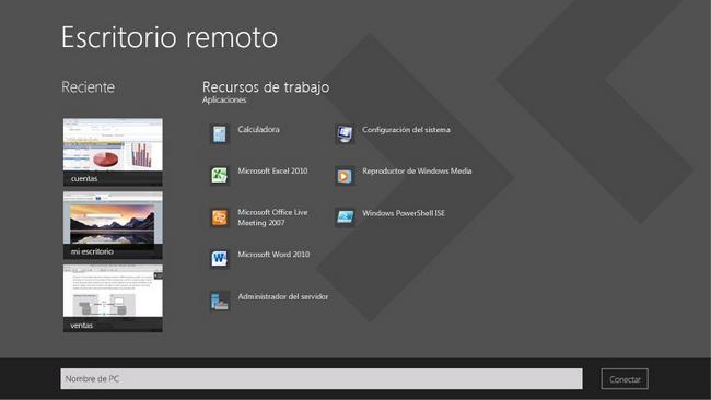 Accede a otros equipos desde tu ordenador con escritorio remoto - Escritorio remoto ...