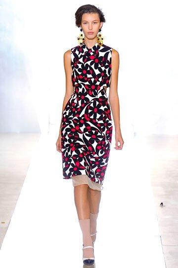 Vestido tubo Marni verano 2012