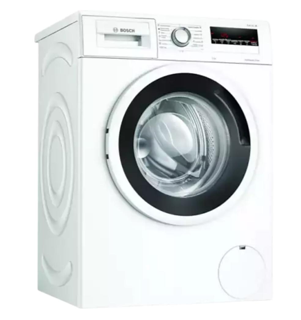 Lavadora carga frontal - Bosch WAN24264ES, 8 kg, 1200 rpm, Blanco