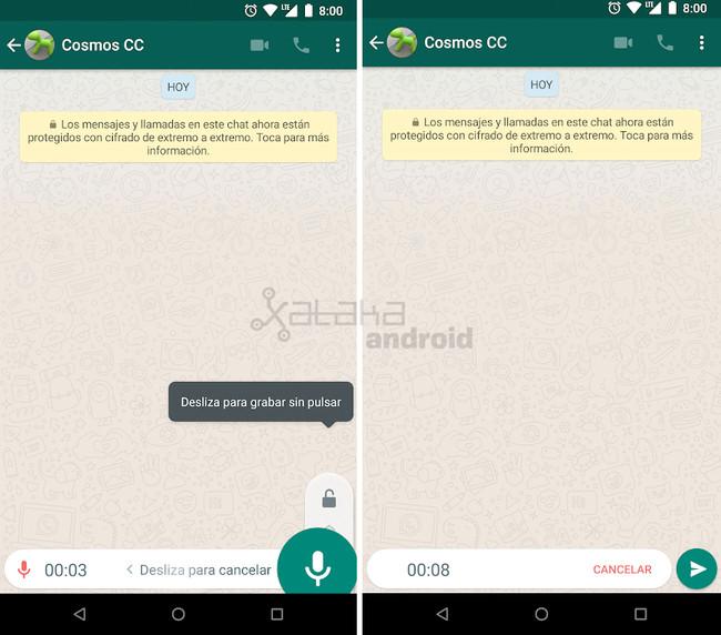 Whatsapp Grabadora