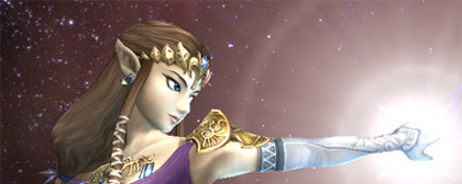 La princesa Zelda visita Super Smash Bros.