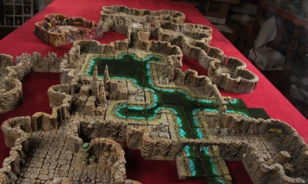 Dwarven Forge Map