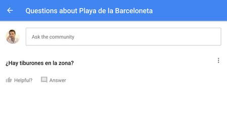 (¡Ya oficial!) Google Maps Beta incluye preguntas y respuestas sobre lugares y otras novedades