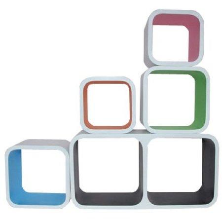 Cubos de colores para un almacenamiento flexible y creativo