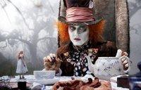 Alicia en el país de las bobadas tridimensionales de Tim Burton