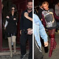 Beyoncé se une a Kendall Jenner para lanzar una línea de botas