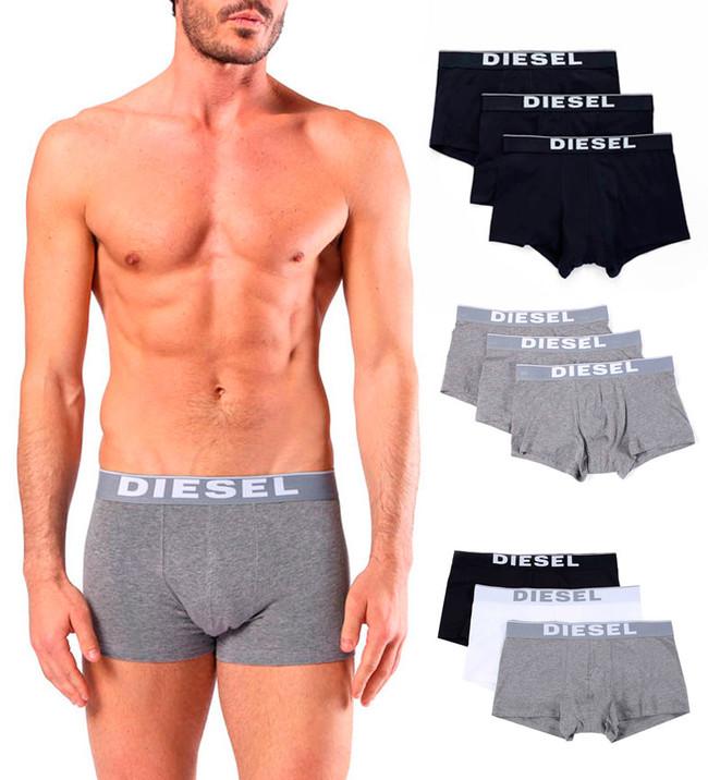 Campaña esto es eBay:  pack de tres calzoncillos de tipo bóxer Diesel Kory por sólo 25,90 euros con envío gratis