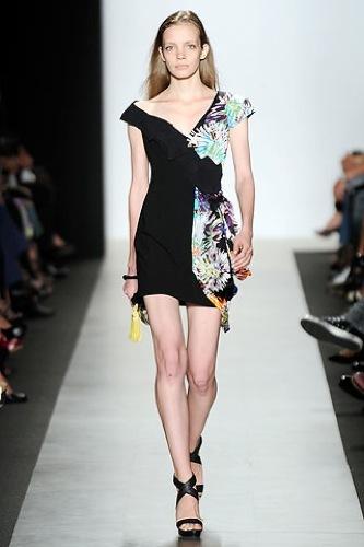 El estampado floral dominará la Primavera-Verano 2010: vestidos para tomar nota, Vera Wang
