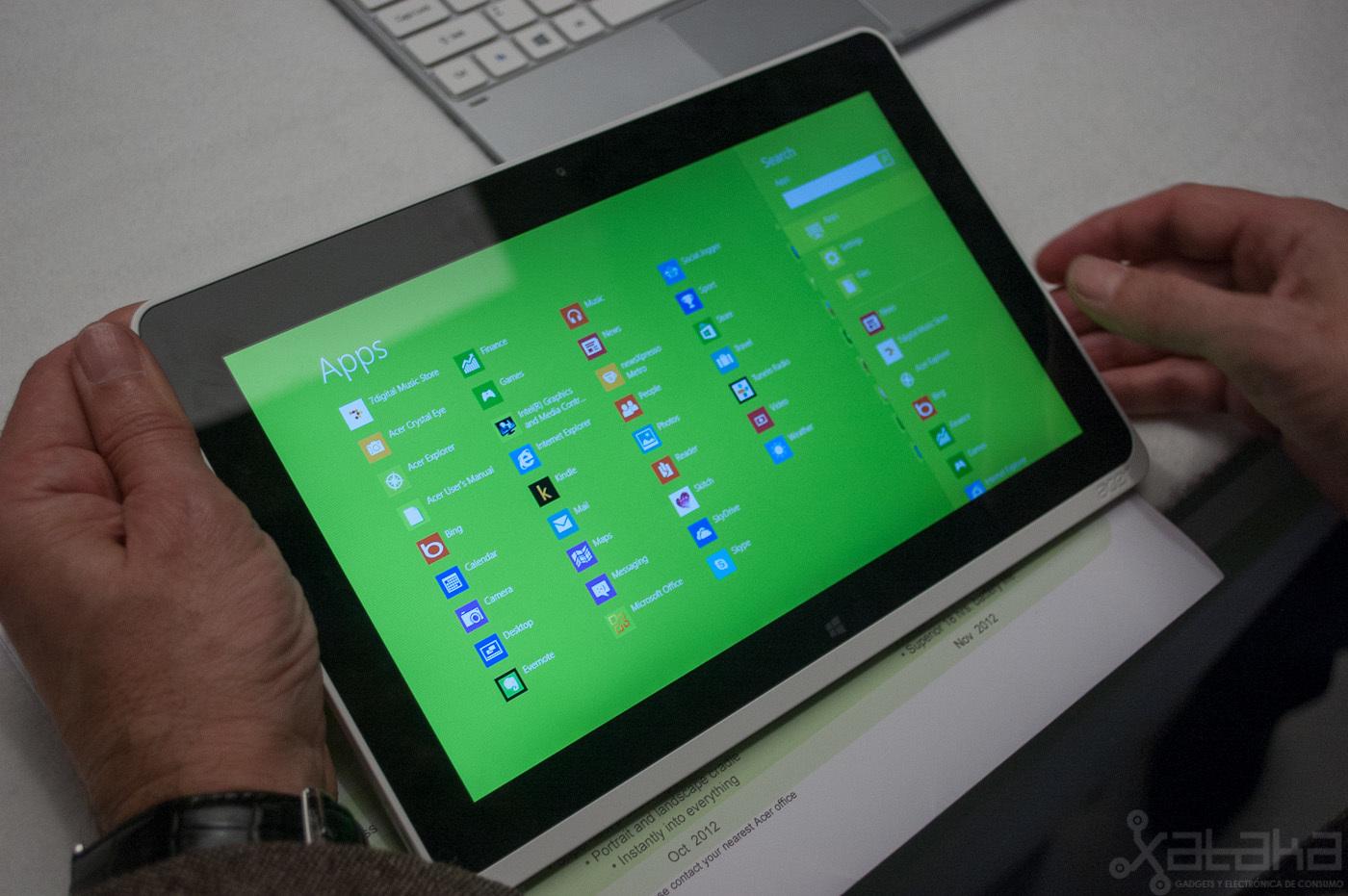 Foto de Acer Iconia W510, primeras impresiones (6/14)