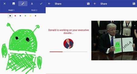 Donald Draws es la app para que Trump dibuje lo que quieras que no necesitas, pero debes probar