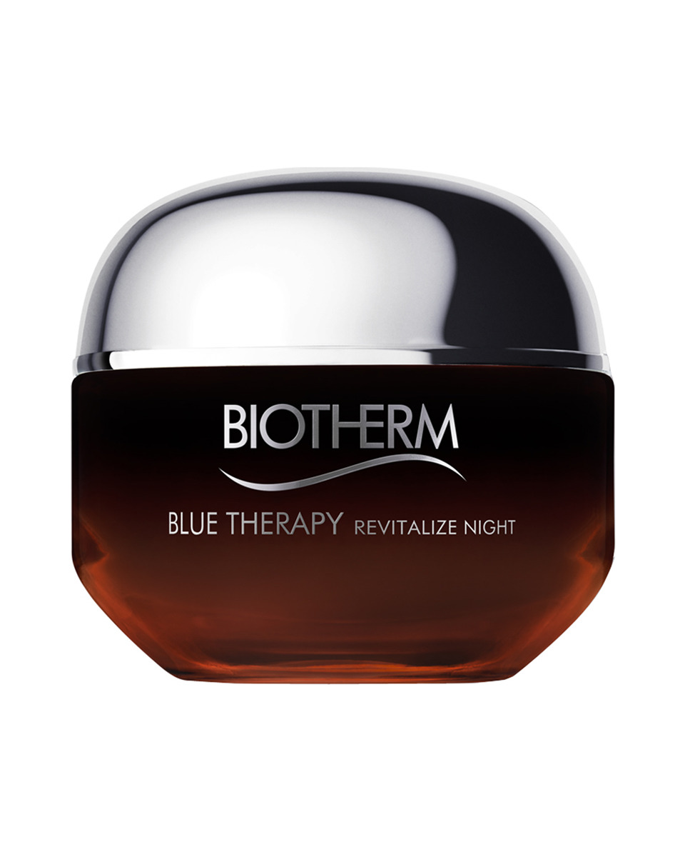 Tratamiento Reparador Blue Therapy Amber Algae Revitalize Noche 50 ml Biotherm