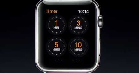Temporizador Apple Watch