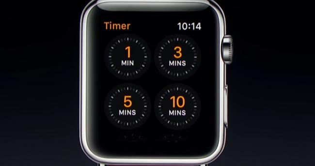 Temporizador Apple Watch