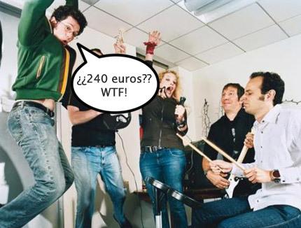 Harmonix asegura que 'Rock Band' no bajará de precio en Europa