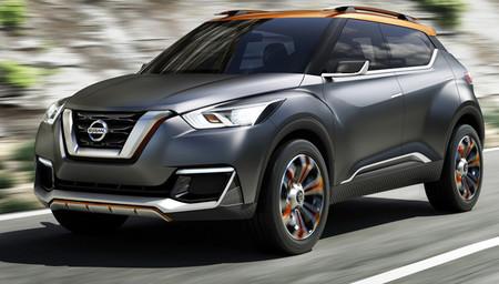 Nissan Kicks Concept, para el Salón de São Paulo
