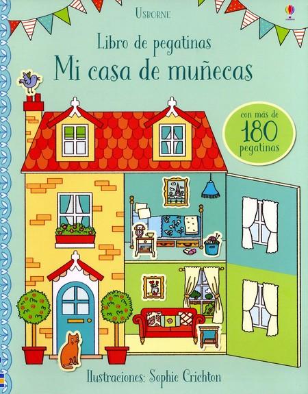 Mi casa de muñecas libro de pegatinas