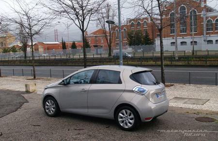 Renault ZOE presentación en Lisboa exterior central electrica
