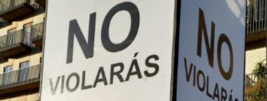 """""""No violarás"""", o cómo una obra de arte ha abierto un debate público sobre prevención de abusos en Zaragoza"""