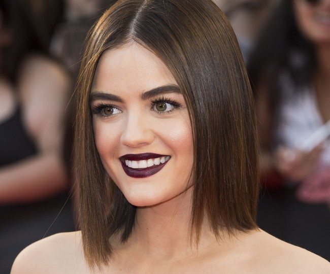 lucy hale truco belleza maquillaje