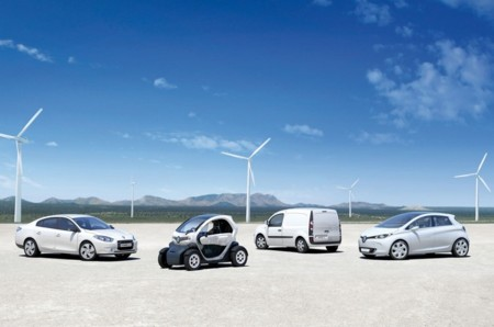 Renault Coches Electricos Eolica