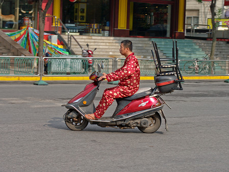 Cámaras contra la comodidad: en China han usado reconocimiento facial para detectar quién iba en pijama por la calle