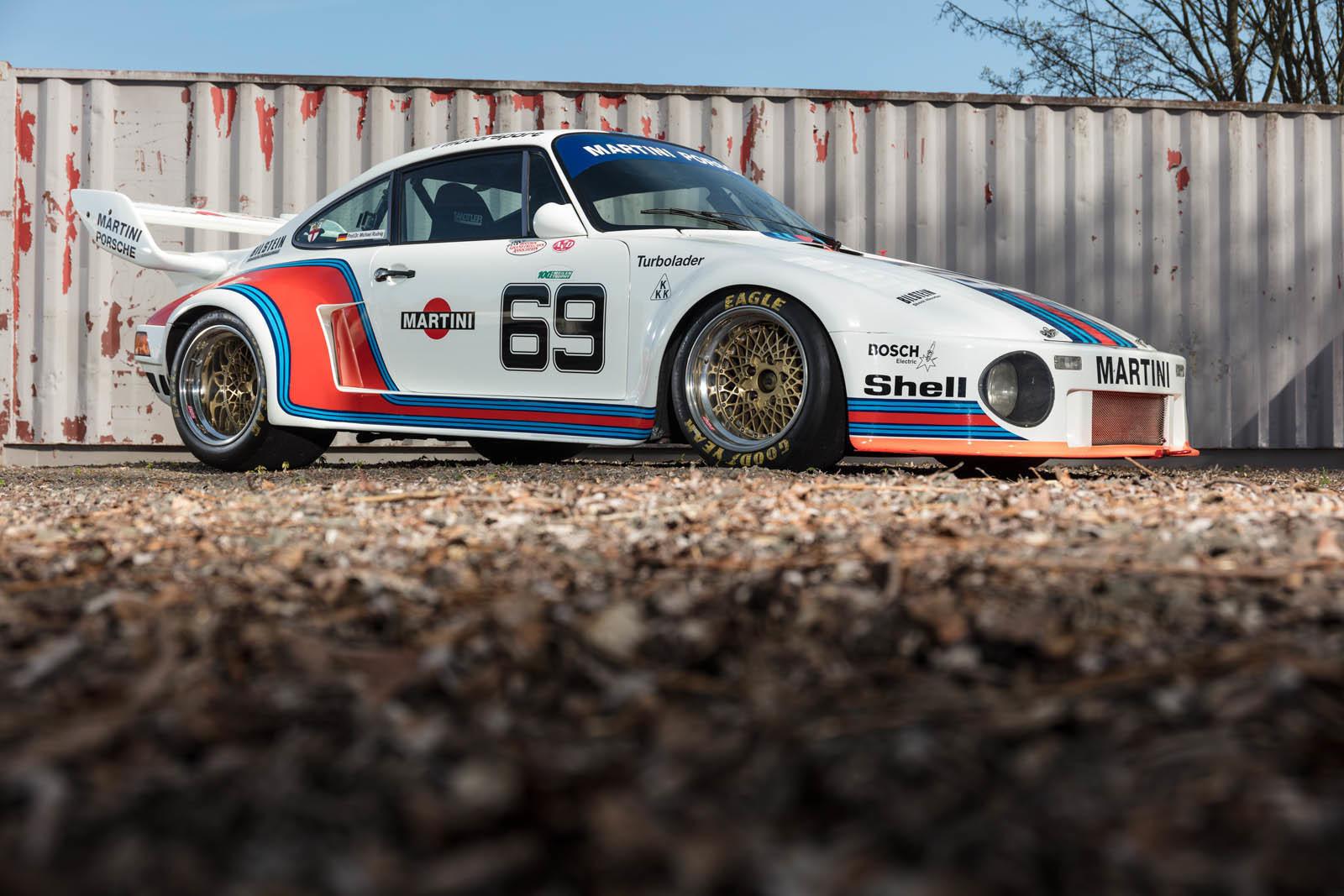 Foto de Porsche 930 clásico a subasta (36/42)