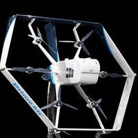 Aquí está la nueva versión del drone mensajero de Amazon: ahora con inteligencia artificial para entregar paquetes de forma autónoma