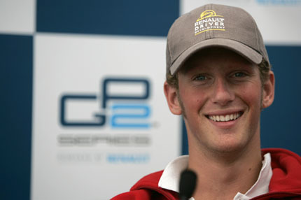 Petrov y Grosjean, los pilotos del Barwa Addax GP2