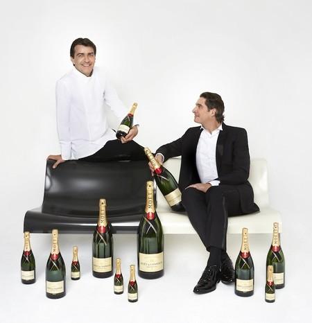 Moët & Chandon y Yannick Álleno. Juntos crean un maridaje histórico