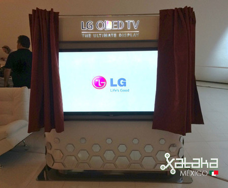 LG Gallery OLED TV, toma de contacto