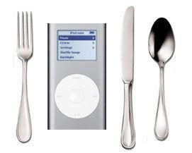 Colección de recetas Kraft en tu iPod