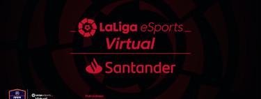 Sale McDonalds y entra el Banco Santander, Virtual LaLiga eSports cambia de patrocinador para la segunda temporada