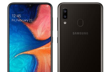 Samsung Galaxy A20: su nuevo gama media con cámara dual y lector de huellas más económico