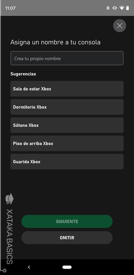 Nombre Xbox