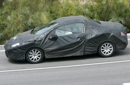 Fotos espía del Peugeot 308 CC
