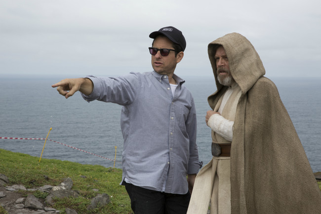 Jj Abrams Directs Mark Hamill On Skellig Michael Credit David James