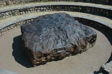 Namibie Hoba Meteorite 02