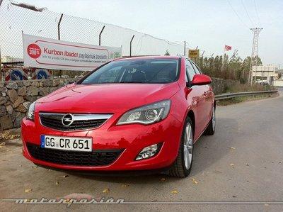 Opel Astra Sports Tourer, presentación y prueba en Estambul (parte 1)