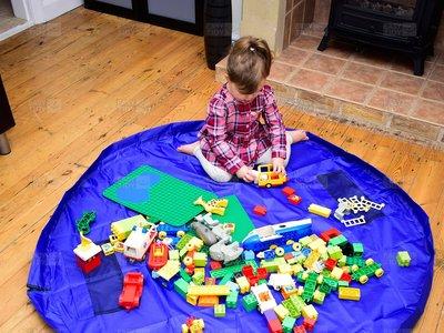Recoger los juguetes es una batalla perdida: la alfombra Easy Tidy te permitirá una rendición cómoda por 16,99€