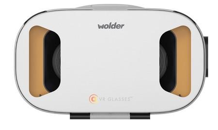 Las gafas Wolder VR ya son oficiales, realidad virtual y vídeos en 360 grados para todos