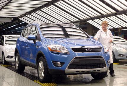 El primer Ford Kuga ya ha salido de Saarlouis