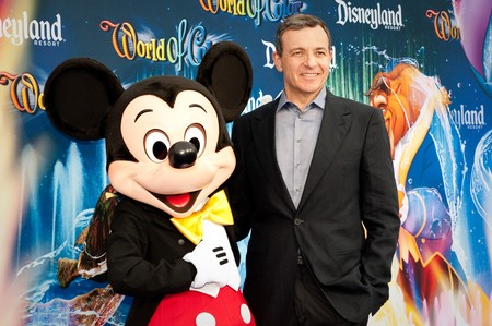 Bob Iger Mickey Mouse