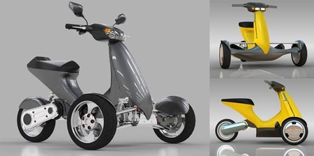 Sway Motorsports, triciclo eléctrico para novatos
