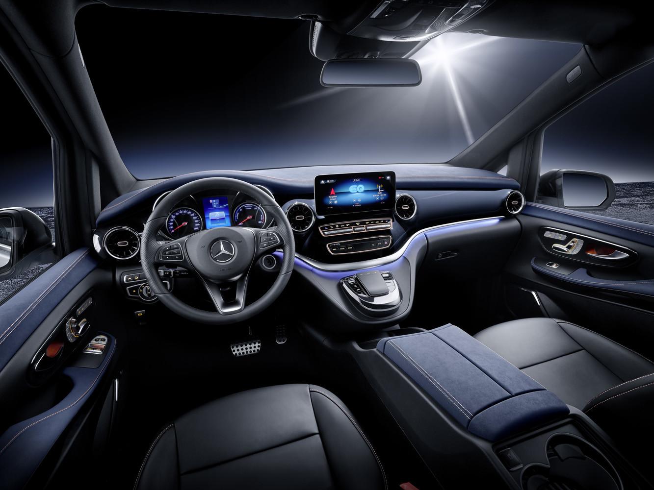 Foto de Mercedes-Benz Concept EQV (10/14)