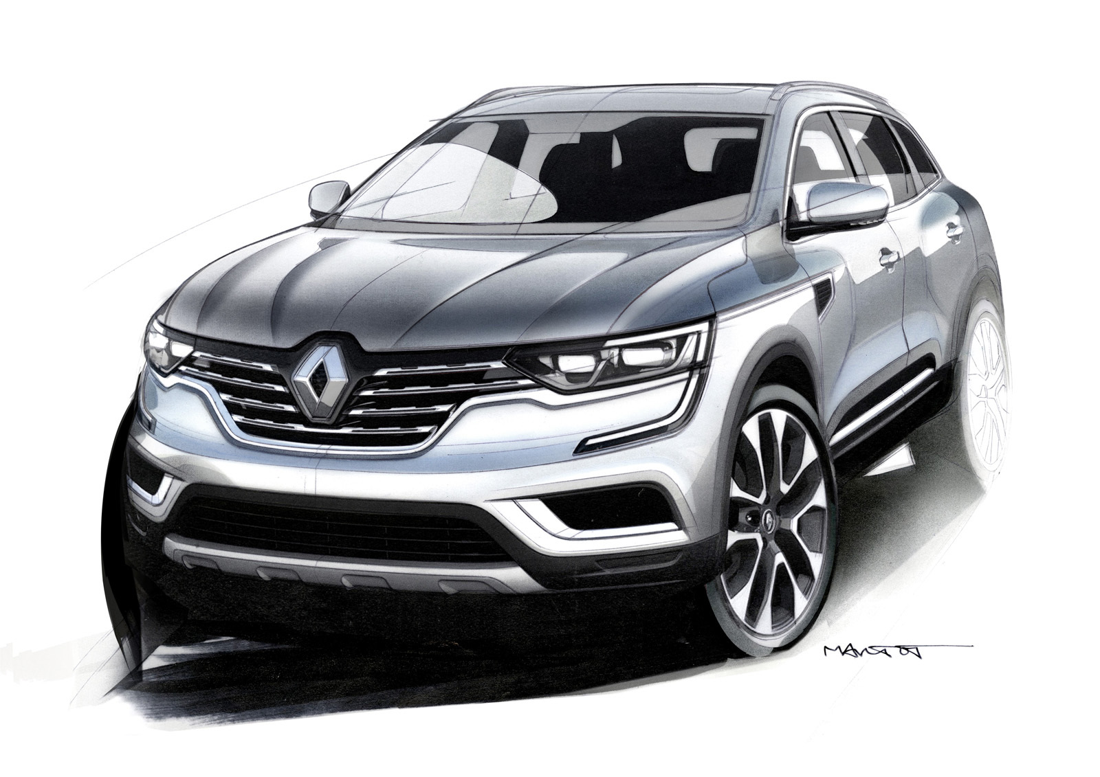 foto de renault koleos 2017 25 26. Black Bedroom Furniture Sets. Home Design Ideas