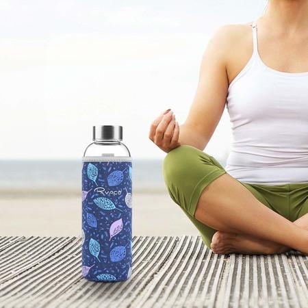 Botella De Agua Cristal